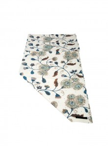 Table Runner Blues & Browns - two sizes 40cm x250cm