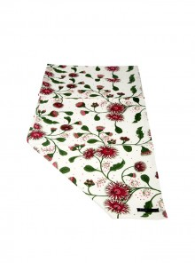 Table Runner Red & Greens - two sizes 40cm x250cm