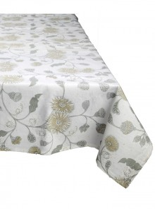 Table Cloth Black and Brown