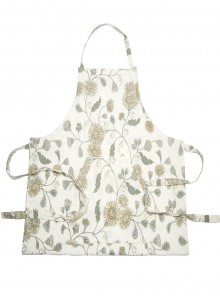 Kitchen Aprons Beige and Grays